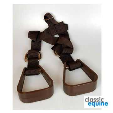 Children Buddy Stirrups for Western Saddle